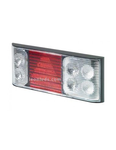 Piloto trasero LED Rubbolite M758 | PIloto LED TruckLite M758 | Piloto trasero Plataforma