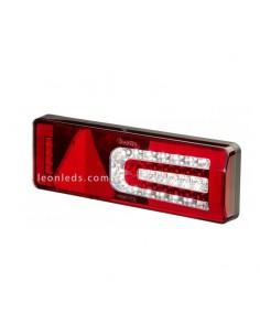 Piloto trasero LED trailer   Piloto LED con triángulo intermitene progresivo   TruckLite M900   LeonLeds Iluminción