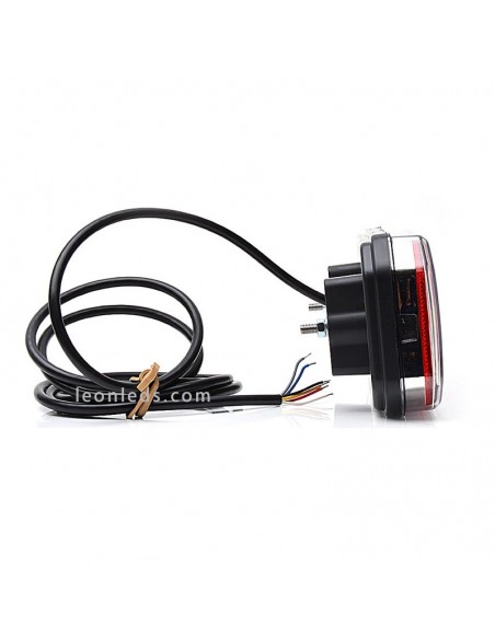 Piloto trasero LED Homologado | Piloto trasero LED Rectangular | Piloto trasero LED Was | LeonLeds Iluminación