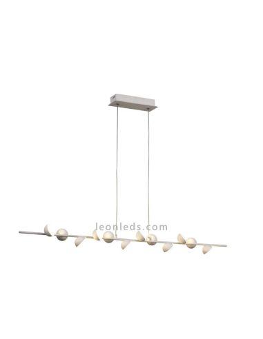 Lámpara colgante Led Moderna ADN de 36W de Mantra iluminación Blanco Mate | LeonLeds Iluminación