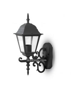 Aplique de pared para exterior IP44 de VTac con acabado negro al mejor precio | LeonLeds Iluminación