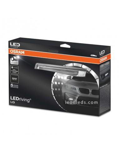 Kit Luz diurna LED Osram | Luz diurna LED Osram LED Driving | Diurna LED Osram Homologada | LeonLeds Iluminación