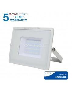 Proyector Led Pro de 30W Blanco con luz Cálida 3000K baratos | LeonLeds Iluminación