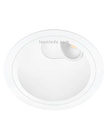 Pointer LED Downlight orientable redondo de Arkos Light Blanco   Downlight LED orientable   LeonLeds.com