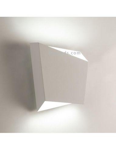 Aplique de pared Asimetric Blanco para bombilla GX53 de Mantra Iluminación   LeonLeds.com