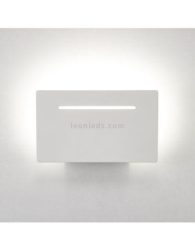 Aplique rectangular de pared LED 4W luz Natural de la serie Toja de Mantra Iluminación | LeonLeds Iluminación