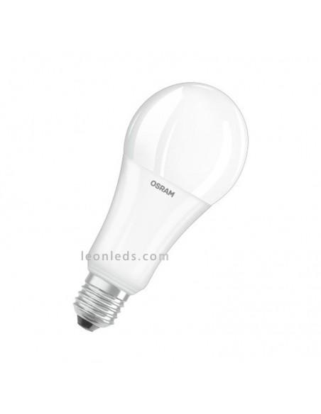 Bombilla LED Osram Parathom CL A mate 150 827 | Bombilla LED A67 E27 2700K | Osram A67 E27 20W | LeonLeds Iluminación