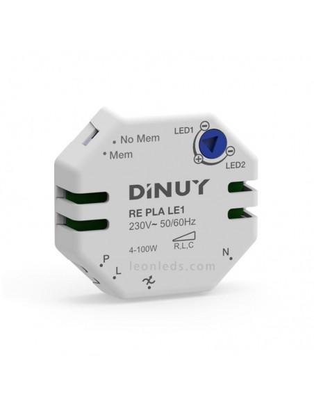 Pastilla reguladora LED Dinuy | Pastilla reguladora LED RE PLA LE 1 | Regulador de Lámparas LED | LeonLeds Iluminación