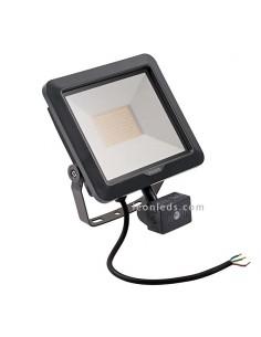 Proyector LED exterior 50W con sensor | Proyector LED para exterior con sensor de presencia | LeonLeds Iluminación