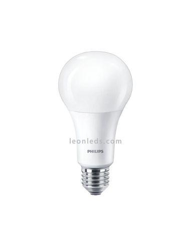 Bombilla Led Barata Philips E27 A60 16W- CorePro | Bombilla LED E27 Regulable Philips | LeonLeds Iluminación