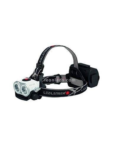 Linterna LED Frontal LedLenser XEO19R | Frontal LED recargable potente | LeonLeds Iluminación