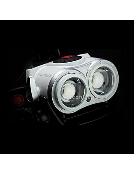 Frontal LED recargable LedLenser XEO19R | Linterna LED de cabeza LEDLenser | LeonLeds Iluminación