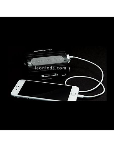 Batería de Linterna LED Frontal XEO19R | LedLenser XEO19r Batería | LeonLeds Iluminación