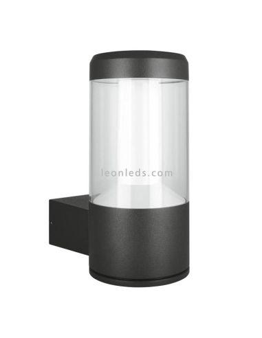 Aplique LED para exterior | Aplique LED de exterior LedVance 12w | Aplique LED moderno Gris Oscuro | LeonLeds Iluminación