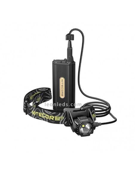 Linterna LED Nitecore HC70 | Frontal LED para la cabeza | Frontal LED especial Espeleología | LeonLeds Iluminación LED