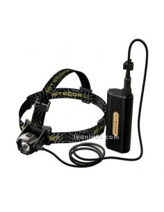 Nitecore HC70 | Linterna LED recargable para espeleología | Linterna LED de cabeza | LeonLeds Iluminación