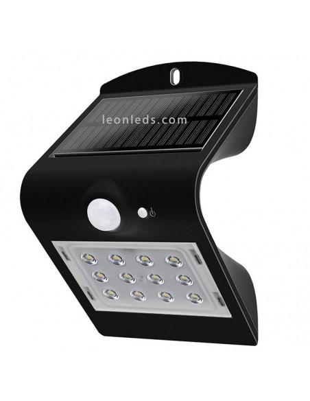 Aplique LED Solar 8277 | Aplique LED con sensor IP65 8277 | LeonLeds Iluminación