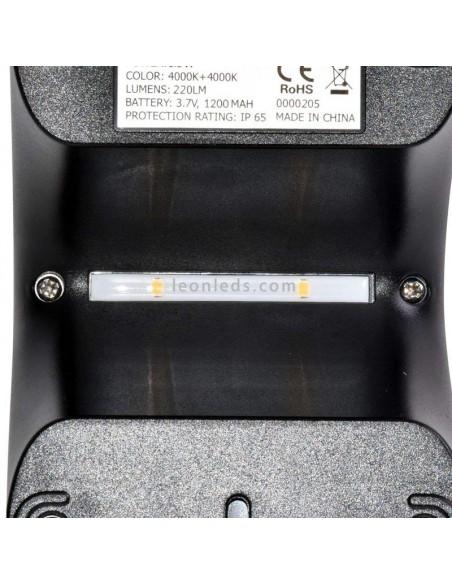 Aplique LED con sensor | Vtac 8277 Aplique LED con sensor para exterior | LeonLeds Iluminación