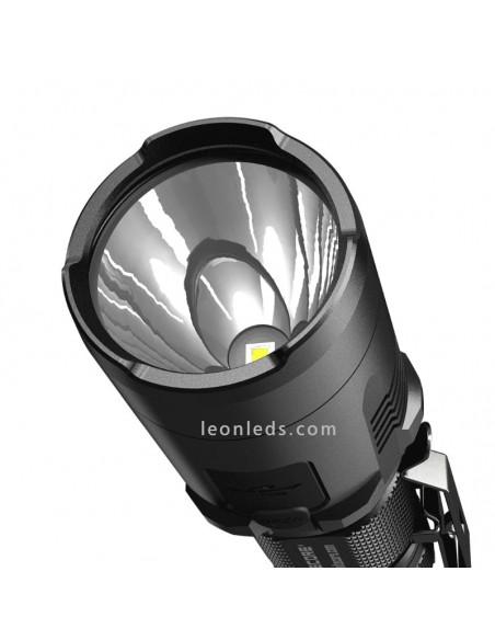 Linterna LED de mano potente   Nitecore MH20GT   Linterna LED de mano pequeña potente   LeonLeds Iluminación