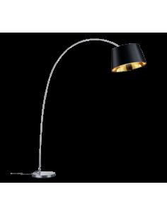 Lámpara de Pie Cromada | Lámpara de Pie Moderna | Lámpara de Pie Dorada y Oro |  LeonLeds Iluminación