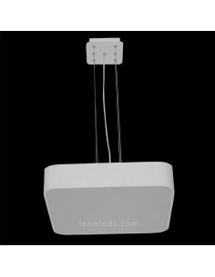 Kit colgante para Plafón LED cuadrado | Kit para colgar plafón LED Cambuco 5502 | LeonLeds Iluminación