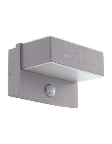 Aplique LED de exterior con sensor | Aplique LED Azzinano con sensor de movimiento | LeonLeds Iluminación