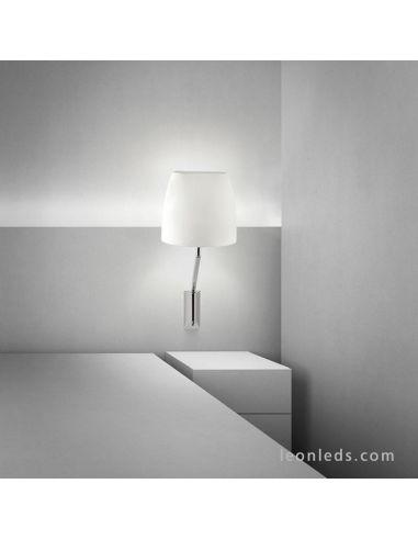 Aplique de pared interior Flavia de Grok | Aplique de pared especial para hoteles moderno clasico | LeonLEDS Iluminación