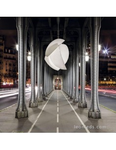 Lámpara de Techo LED Voiles | Lámpara colgante LED Voiles de grok Leds C4 | Lámpara LED moderna | Leonleds Iluminación