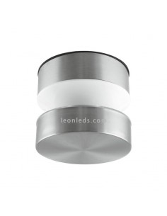 Aplique LED de exterior de acero inoxidable | Lámpara Plafón LED exterior de LedVance serie Pole | LeonLeds Iluminación