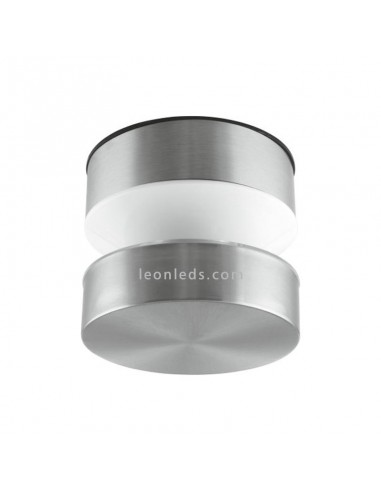 Aplique LED de exterior de acero inoxidable   Lámpara Plafón LED exterior de LedVance serie Pole   LeonLeds Iluminación