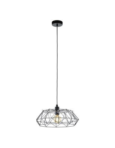 Lámpara de Techo vintage | Lámpara vintage negra de techo de Eglo Lighting | LeonLeds Iluminación