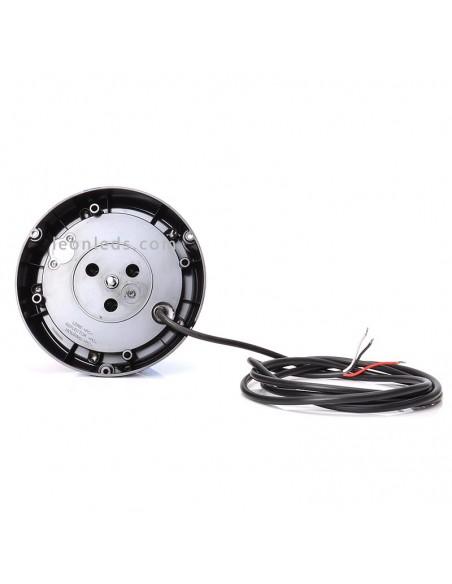 Rotativo LED Azul was con programas diferentes homologado NR65 | Rotativo LED son cable y soporte | LeonLeds Iluminación