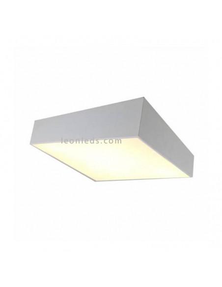 Plafón cuadrado Mini de mantra blanco | Plafón de techo moderno de mantra | LeonLeds Iluminación