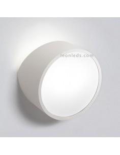 Aplique para fachada blanco redondo Mini de mantra 5480 | LeonLeds Iluminación
