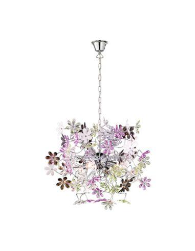 Lámpara de Techo grande de la serie Flower de Trio Lighting 63CM | LeonLeds Iluminación