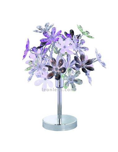 Lámpara de Sobremesa de la serie Flower de Trio Lighting   LeonLeds Iluminación