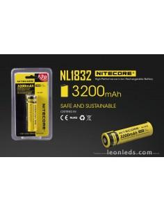 Nitecore nu20 LED lámpara de cabeza con bateria integrado recargable
