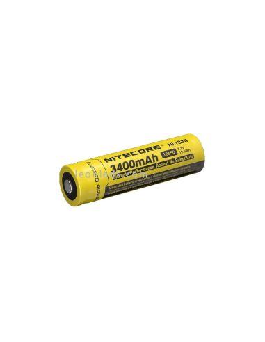 Batería Recargable 18650 para Linternas de Led NL1834 al mejor precio   Leonleds Iluminación