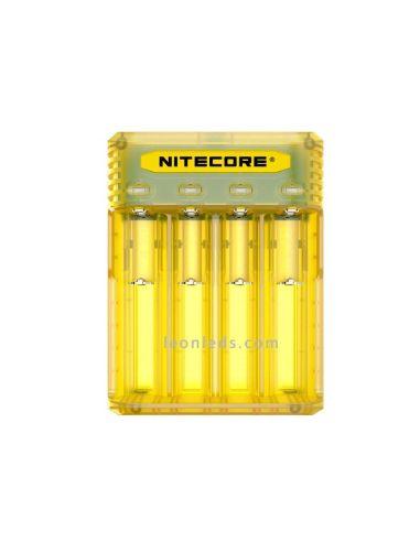 Cargador de Baterías con 4 Bahías de Nitecore | LeonLeds Iluminación