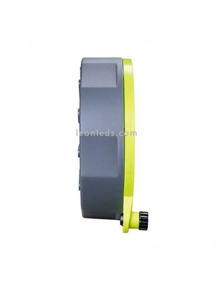 Enrollacable de 10M con 4 tomas schuko 3x1.5mm al mejor precio| LeonLeds