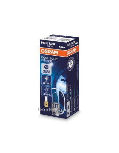 Bombilla H3 Cool Blue Intense 12V para vehículos | LeonLeds Iluminación