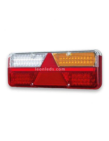 Piloto LED trasero con triangulo homologado para camión o remolque | LeonLeds Iluminación