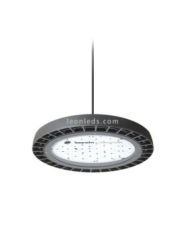 Campana LED Industrial de 100W de Secom al mejor precio de internet   LeonLeds Iluminación