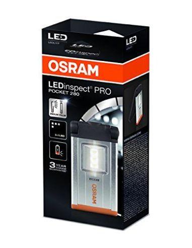 Linterna LED magnética Osram PRO Pocket 280 | Lámpara de inspección Osram PRO Pocket 280 | LeonLeds Iluminación