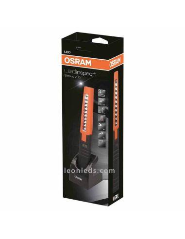 Linterna LED con base de carga Osram PRO Penlight 150 | Linterna LED de trabajo recargable | LeonLeds Iluminación