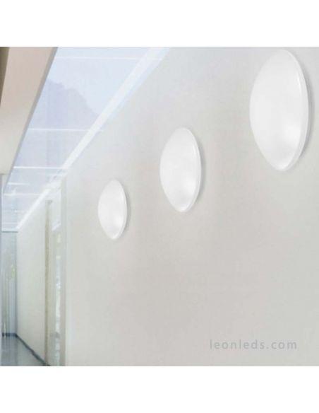 Plafón LED instalado en la pared con sensor de presencia de la marca Osram LedVance   LeonLeds Iluminación