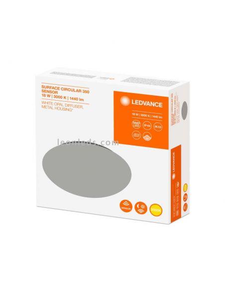 Caja de Plafón LED con sensor de presencia redondo de la marca Osram LedVance   LeonLeds Iluminación