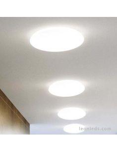 Plafón LED Osram LedVance redondo para instalar en un techo interior o exterior | LeonLeds Iluminación LED