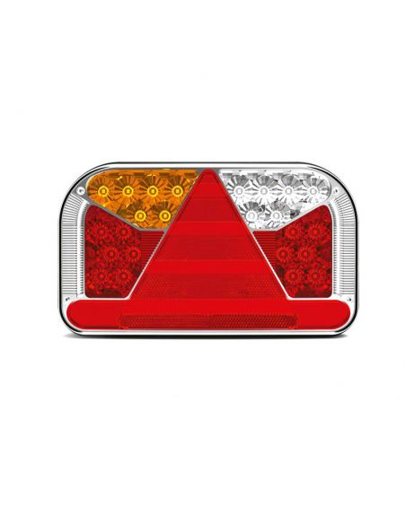 Piloto Trasero de Led con 5 funciones para remolques y camiones al mejor precio | LeonLeds Iluminación