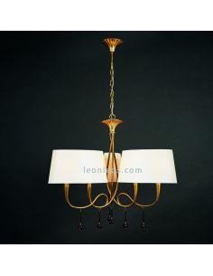 Lámpara de techo estilo Clasico de la serie Paola de Mantra | LeonLeds Iluminación decorativa